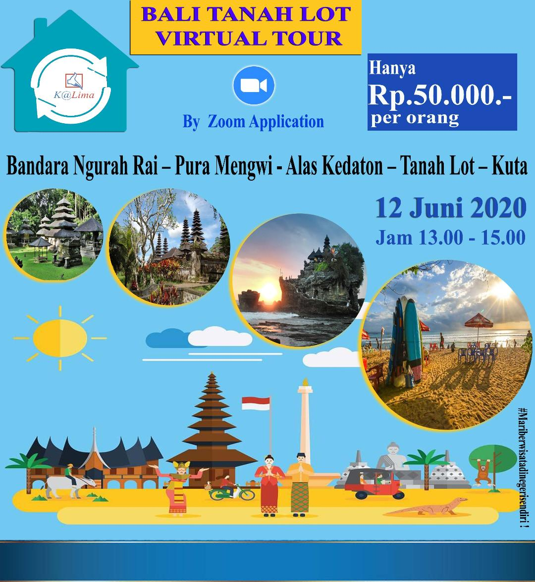 Virtual Tour Bali Tanah Lot