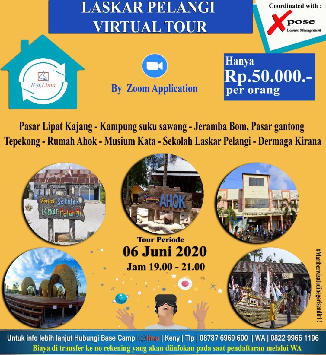 Virtual Tour Laskar Pelangi