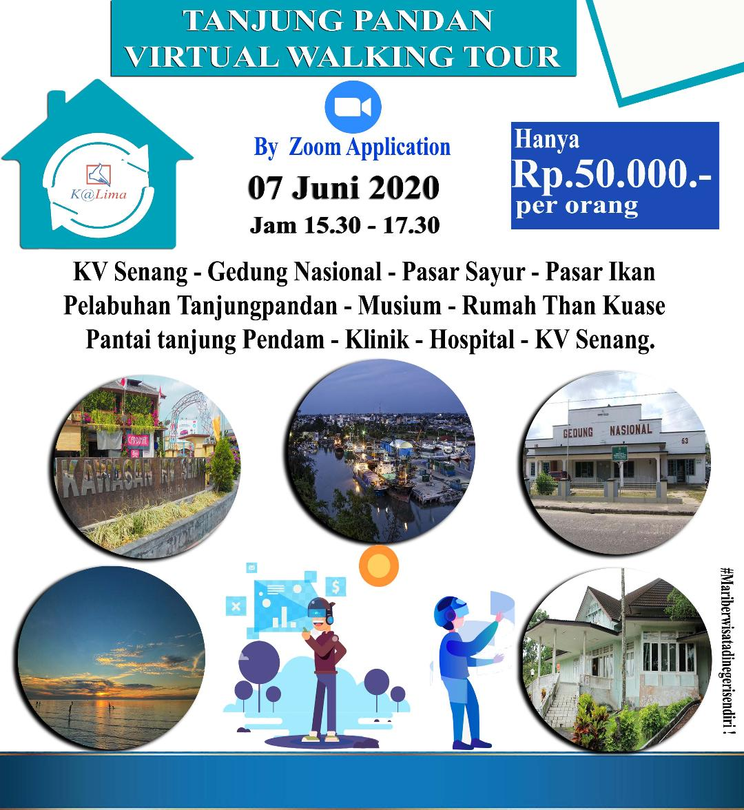 Virtual Tour Tanjung Pandan